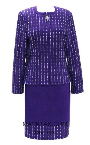 KNY H140 Violetta Front Knit Suit