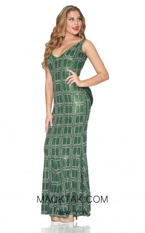 Kourosh Evening 80120 Emd Front Dress