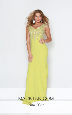 Kourosh Evening E4130 Front Dress
