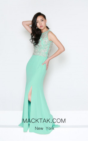 Kourosh Evening E4135 Front Dress