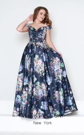 Kourosh Evening E4241 Front Dress