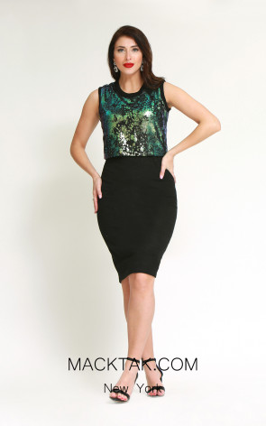 Kourosh H179 Front Dress