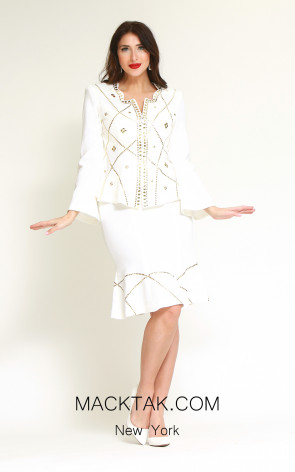 Kourosh H191 Front Dress