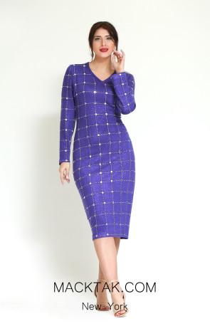 Kourosh H8138 Front Dress