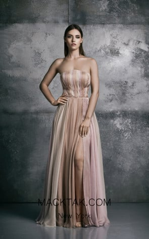 La Mode Toujours Carole Pale Pink Evening Dress