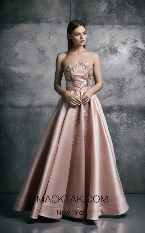 La Mode Toujours Myrna Pink Evening Dress