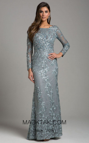 Lara 29924 Gray Front Dress