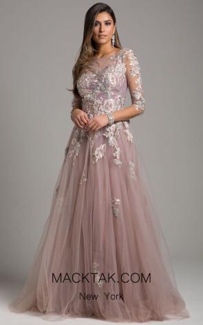 Lara 29933 Mauve Front Dress