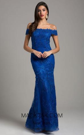Lara 29947 Royal Front Dress