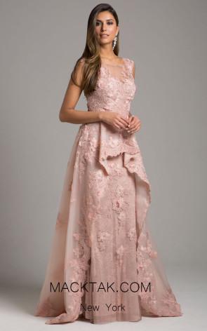 Lara 29948 Blush Front Evening Dress