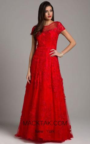 Lara 29960 Red Front Dress