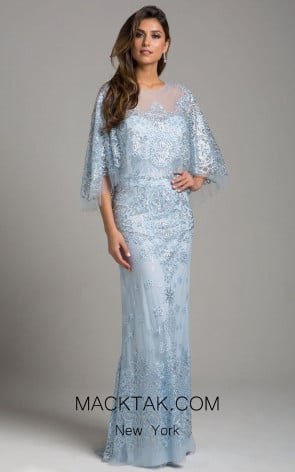 Lara 33623 Light Blue Dress