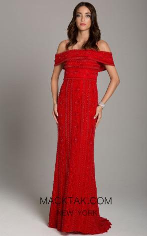 Lara 29850 Red Front Dress