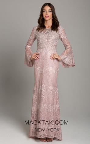 Lara 29887 Dusty Pink Front Dress
