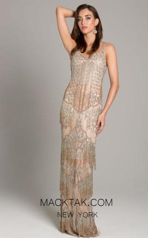 Lara 29893 Nude Front Dress