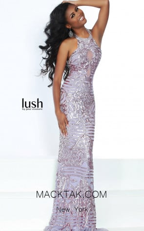 Lush by Jasz Couture 1555 Lilac Front Prom Dress