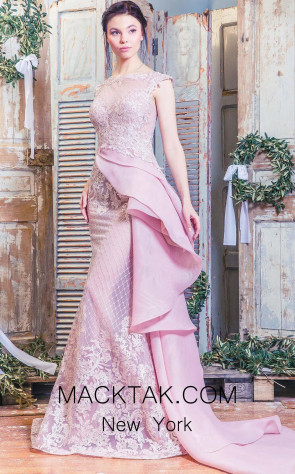 Missaki Couture 3475 Pink Front