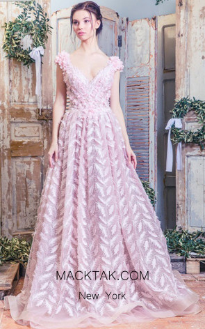 Missaki Couture 3497 Pink Front