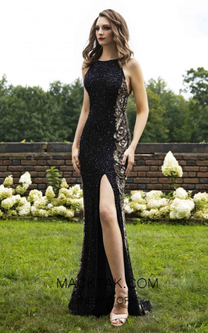 Primavera Couture 3217 Front Black Dress