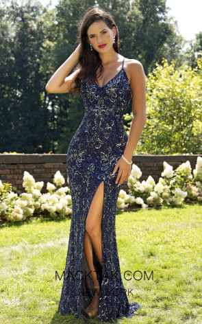 Primavera Couture 3226 Front Midnight Dress