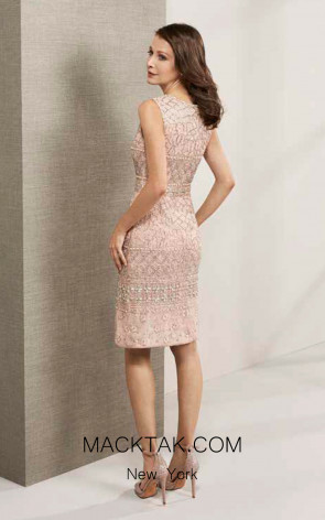 Rosa Clara Cocktail 3T128 Back Dress