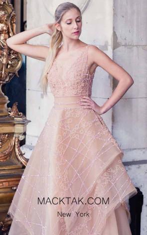 Sana Sabini 9236 Front Evening Dress