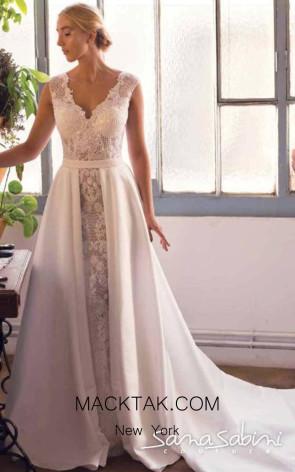 Sana Sabini 9283 Front Evening Dress