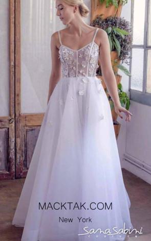 Sana Sabini 9304 Front Evening Dress