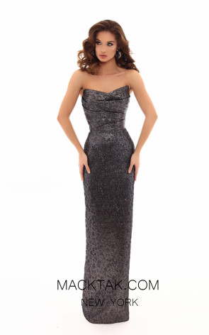 Tarik Ediz 93692 Front Evening Dress