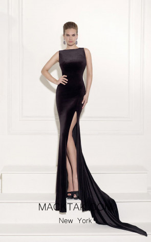 arik Ediz 92481 Front Black Dress