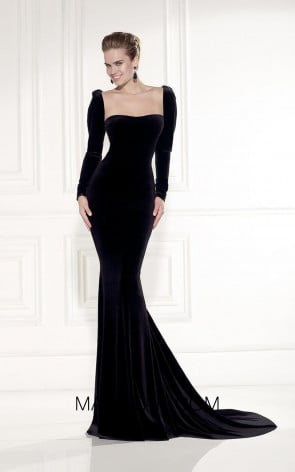 Tarik Ediz 92521 Front Black Dress