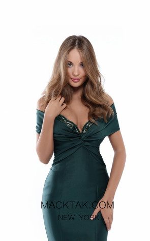 Tarik Ediz 50536 Emerald Prom Dress