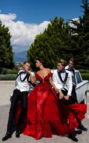 Tarik Ediz 50429 Front Dress