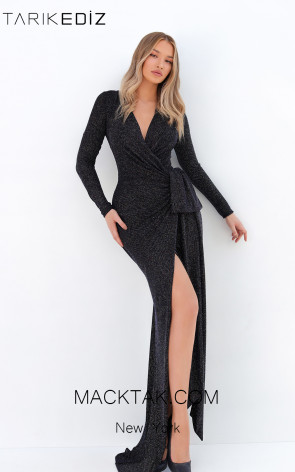 Tarik Ediz 93891 Front Evening Dress