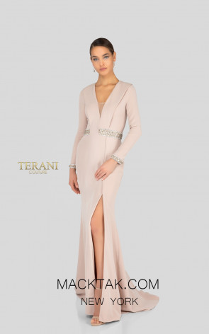 Terani 1911E9116 Toast Front Evening Dress