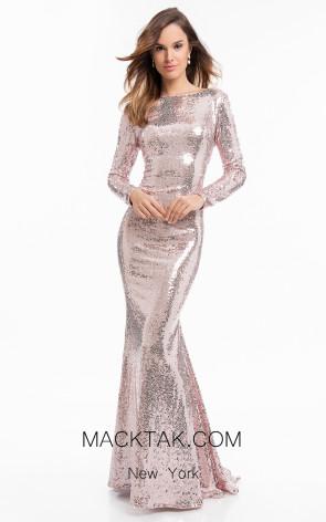 Terani 1822E7310 Blush Front Dress