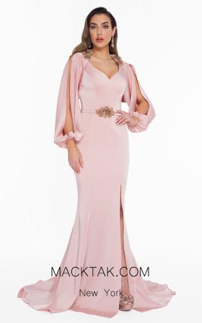 Terani 1823E7371 Blush Front Dress