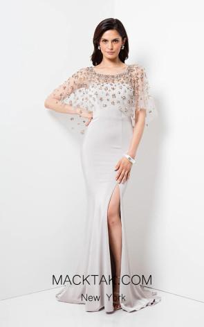 Terani 1713M3486 Putty Front Dress