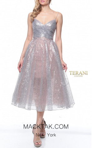 Terani Couture 1922C0049 Front Dress