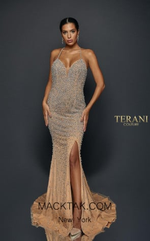 Terani Couture 1921GL0624 Front Dress