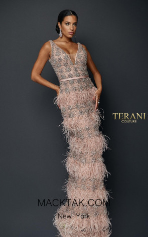 Terani Couture 1921GL0640 Front Dress