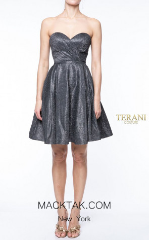 Terani Couture 1921H0337 Front Dress