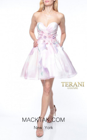 Terani Couture 1921H0343 Front Dress