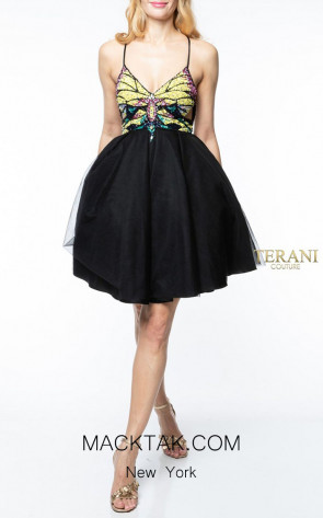 Terani Couture 1921H0354 Front Dress