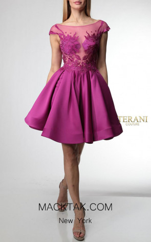 Terani Couture 1921H0355 Front Dress