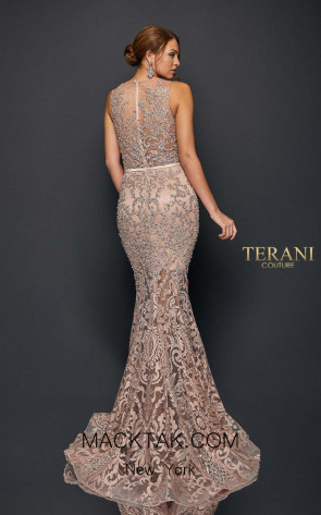 Terani Couture 1922E0259 Back Dress