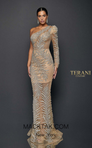Terani Couture 1922GL0659 Front Dress