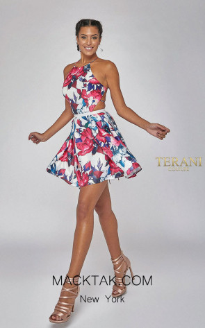 Terani Couture 1925H0686 Front Dress