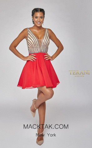 Terani Couture 1925H0695 Front Dress