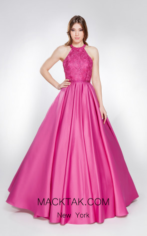 X & M Couture 49043 Front Evening Dress